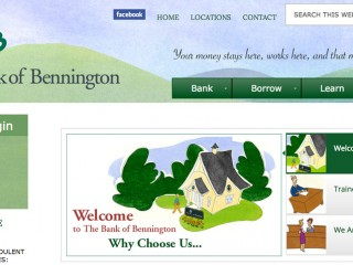 The Bank of Bennington – Web