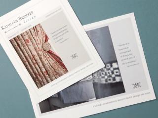 Kathleen Brenner Design – Ad & Postcard