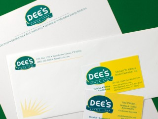 Dee's Electrical – Identity